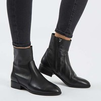 KLASH Leather Sock Boots