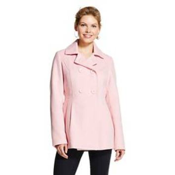 Women's Faux Wool Pea Coat - Xhilaration™ : Target