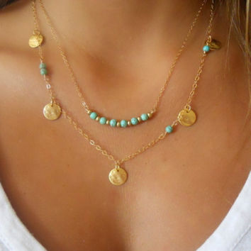 2017 New Gold Multilayer Hammer Chain Bar Necklace Long Strip Pendant Necklace Collar joyeria collier Femme Colares mujer Bijoux