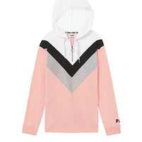 Campus Pullover Tunic - PINK - Victoria's Secret