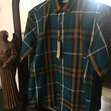 Burberry Shirt 'Size Eu. 2XL' (Rare Green Color!! 🔥🔥) Must See!