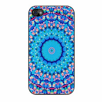 Flowers Sea Pattern iPhone 4 Case