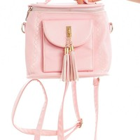 Vintage Y2K Heiress Pink Mini Backpack