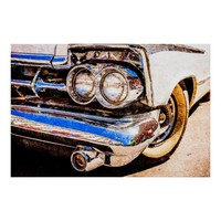 Classic Car Beauty Poster