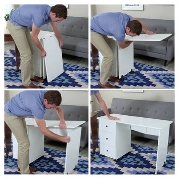 Savannah Folding Mobile Sewing Desk