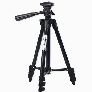 DSLR Camera Tripod Stand Photography Photo Video Aluminum Camera Tripod Stand Camera Tripod For Phone/Gopro With Bag T10