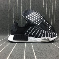 Adidas Boost Nmd Pk Off White Xnmd R1 Women Men Fashion Trending Running Sports Shoes