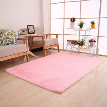 New Style Thick Super Soft Bedroom Carpet Living Room Rug Floor Hallway Table Coffee Mat Outdoor Rug And Carpet Door Bath Carpet