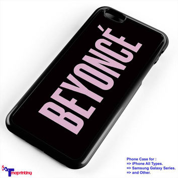 Beyonce Yonce Pink - Personalized iPhone 7 Case, iPhone 6/6S Plus, 5 5S SE, 7S Plus, Samsung Galaxy S5 S6 S7 S8 Case, and Other