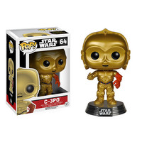 C-3PO Pop Star Wars Force Awakens Vinyl Figure