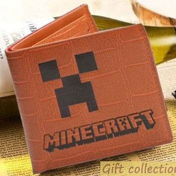 Minecraft New arrival wallet Leather, size 12 x 10cm