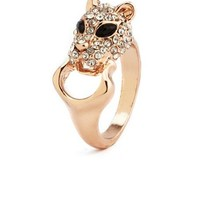 Patti the Panther Metallic Ring: Charlotte Russe