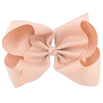 Coral Knot Hair Bow
