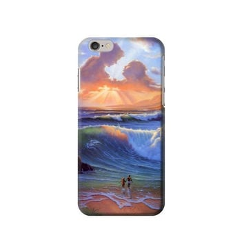 P2754 Vintage Paradise Beach Phone Case For IPHONE 6S