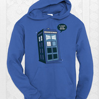 Bigger on the Inside - Unisex doctor who hoodie. Comes in navy, royal, and carolina blue.