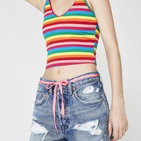 Full Spectrum Striped Tank Top