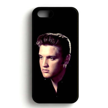 Elvis Presley In The Dark iPhone 5, iPhone 5s and iPhone 5S Gold case