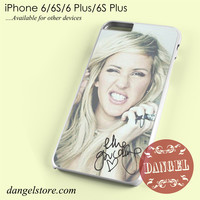 ellie goulding making face Phone case for iPhone 6/6s/6 Plus/6S plus