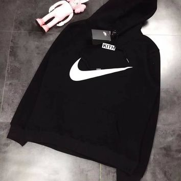 NIKE Woman Men Cashmere Fashion Hoodie Top Sweater Pullover