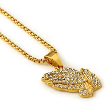 Jewelry Shiny Gift Stylish New Arrival Fashion Accessory Pendant Hip-hop Necklace [10529027843]