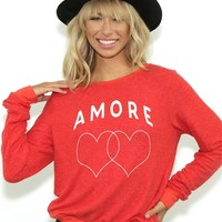 Wildfox Amore Heart BBJ in Marinara | Boutique To You