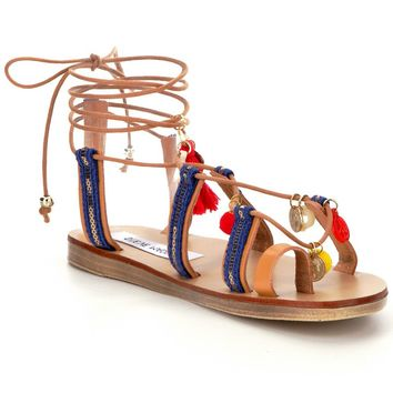 Steve Madden Cailin Lace-Up Sandals | Dillards
