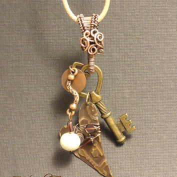 OOAK Wire Wrapped Handcrafted 'Key to Your | The Wired Fox