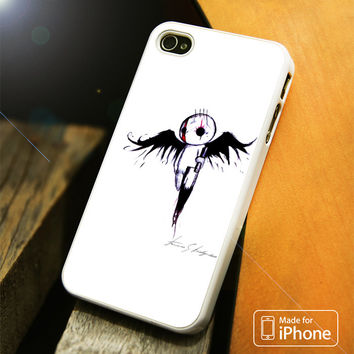 emo angel Art iPhone 4(S),5(S),5C,SE,6(S),6(S) Plus Case
