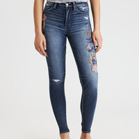 AEO Denim X Super Hi-Rise Jegging, Brighten My Day