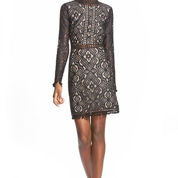 Women's For Love & Lemons 'Florence' Cocktail Dress,
