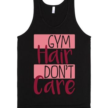 Gym Hair, Don't Care (pink)