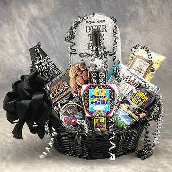 Over the Hill Birthday Gift Basket (Lg)