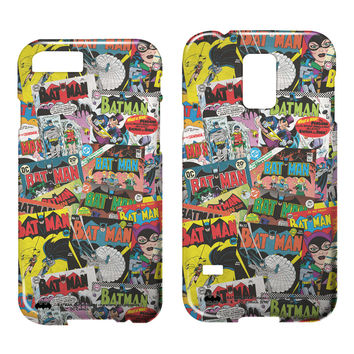 Batman Comic Book Collage Smartphone Case Samsung/iPhone