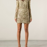 Emilio Pucci Embroidered Dress