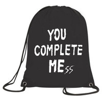 You Complete Mess bag Me five 5 seconds sack of summer luke hemmings 5sos t shirt tee top unisex