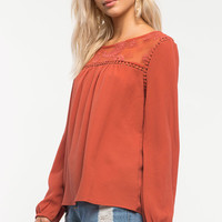 Tina Crochet Blouse