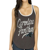 Carolina Panthers Junk Food Women's Roster Ringer Tank Top – Panther Blue