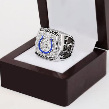 Indianapolis Colts Super Bowl Football Championship Replica Ring 2006