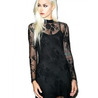 QUEEN OF THE DAMNED MAXI DRESS