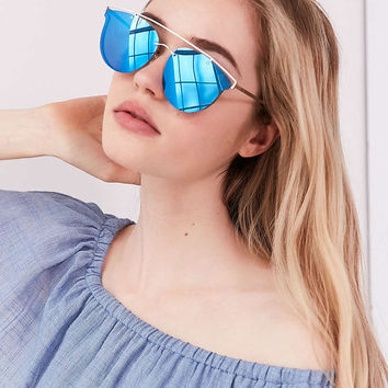 Siesta Key Brow Bar Sunglasses - Urban Outfitters