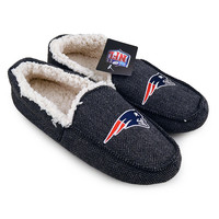 NFL New England Patriots Loafer Slippers [Men's Size 11]