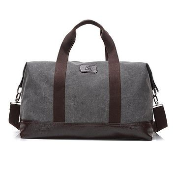 Large Capacity Canvas Travel Bags Casual Men Hand Luggage Travel Duffle Bag Big Tote 5 Colors Male Crossbody bag