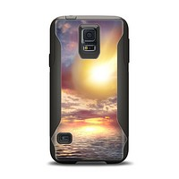 The Fiery Metorite Samsung Galaxy S5 Otterbox Commuter Case Skin Set