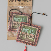 All Who Wander Car Air Freshener