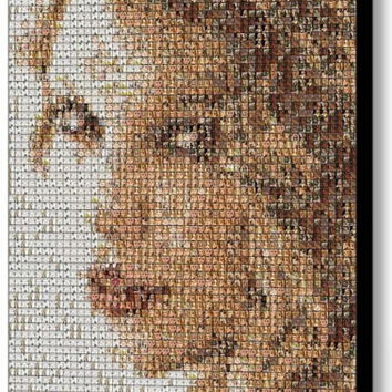Incredible Framed Taylor Swift Mosaic 9X11 inch Limited Edition Art Print w/COA