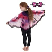 Douglas Pink Butterfly Wings & Mask