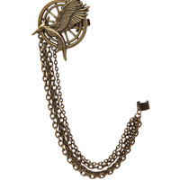The Hunger Games: Catching Fire Mockingjay Hair Clip & Ear Cuff | Hot Topic