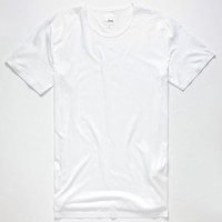 Elwood High Lo Mens Tall Tee White  In Sizes
