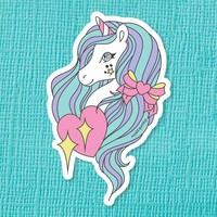 Urbi Unicorn Die Cut Vinyl Sticker