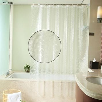 Modern PEVA  shower curtains set bath curtain Bathroom products waterproof abstract vintage bathroom white 3d shower curtain